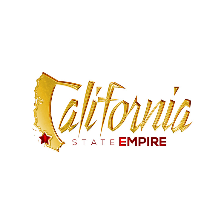 kahraezink-california-state-empire-logo-design