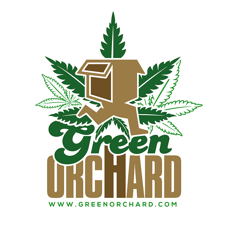 kahraezink-green-orchard-marijuana-logo