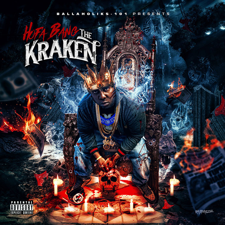 kahraezink-hofa-bang-the-kraken-album-cover-design