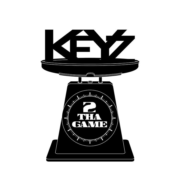 kahraezink-keyz2thagame-rapper-logo-design2