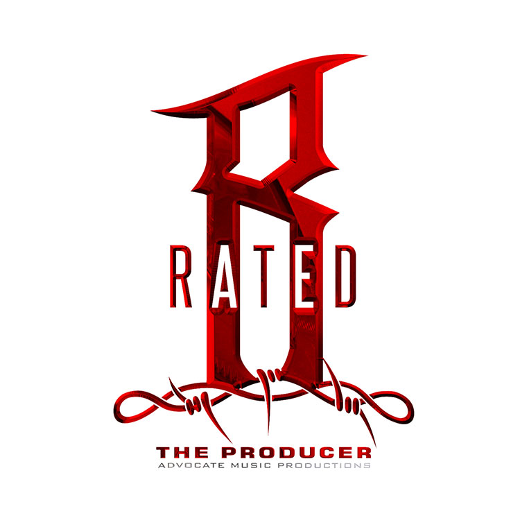 kahraezink-rated-r-producer-logo-design