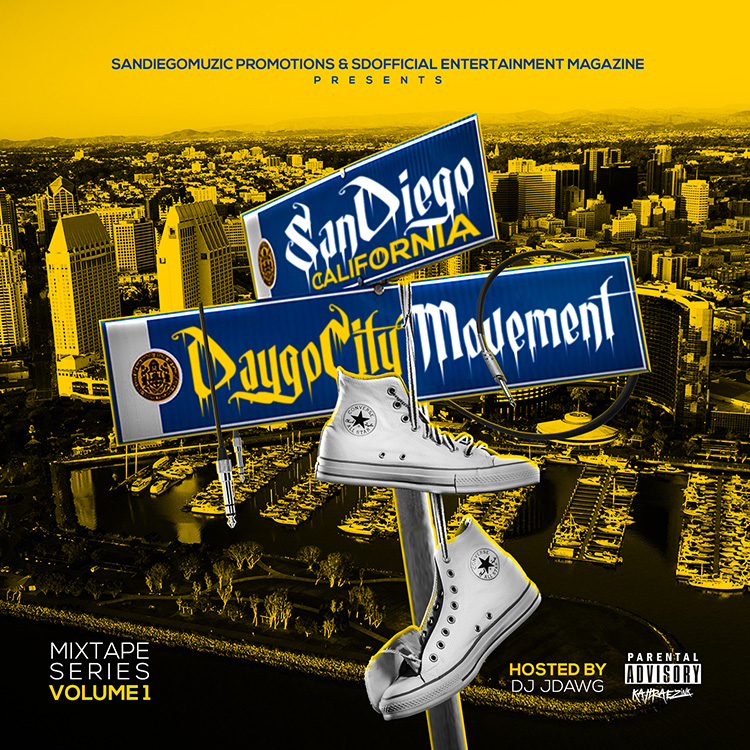 kahraezink_daygocitymovement_mixtape_cover_design