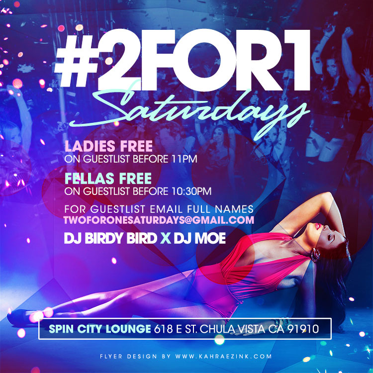 kahraezink-ladies-night-nightclub-flyer-design