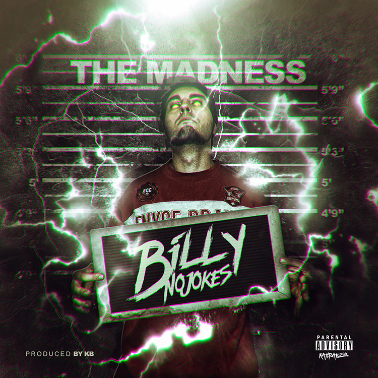 kahraezink_billy_no_jokes_the_madness_single_cover_design