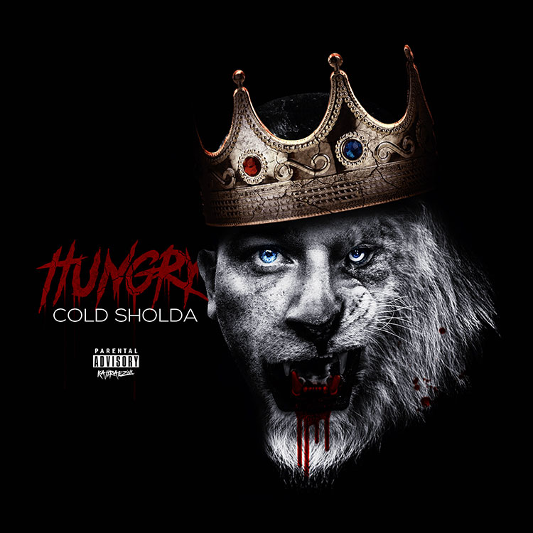 kahraezink_cold_sholda_hungry_album_cover_design