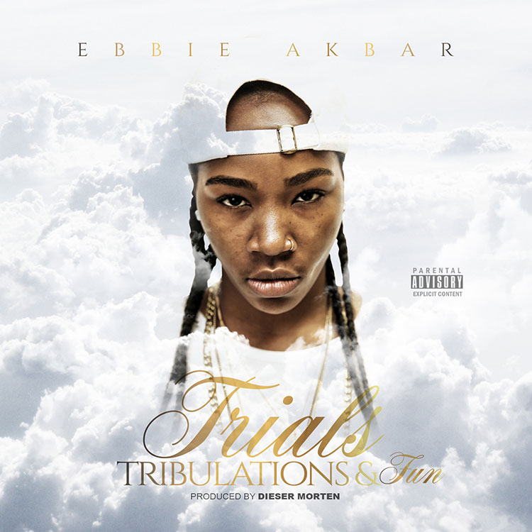 kahraezink_ebbie_akbar_trials_tribulations_and_fun_album_cover_design