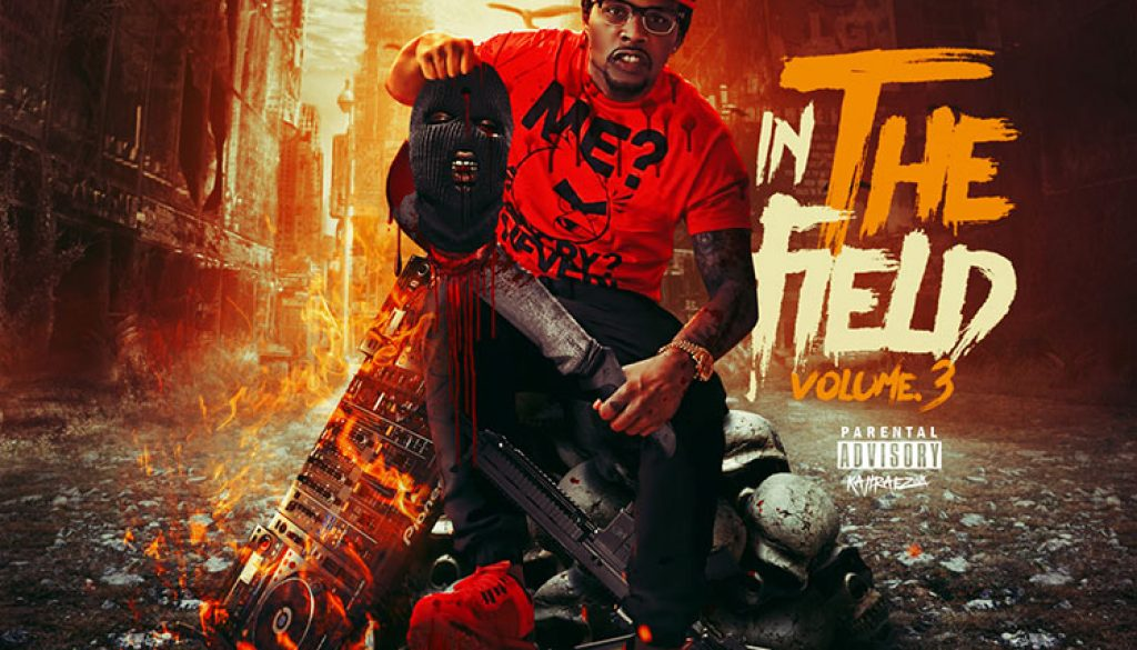kahraezink_xay_the_dj_in_the_field_vol3_mixtape_cover_design