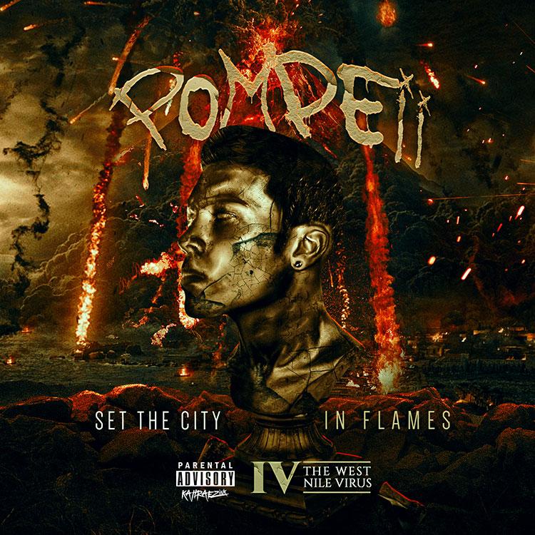 kahraezink_iv_the_west_nile_virus_pompeii_mixtape_cover_design