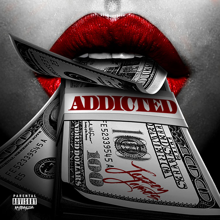 kahraezink_jazzey_james_addicted_single_cover_design