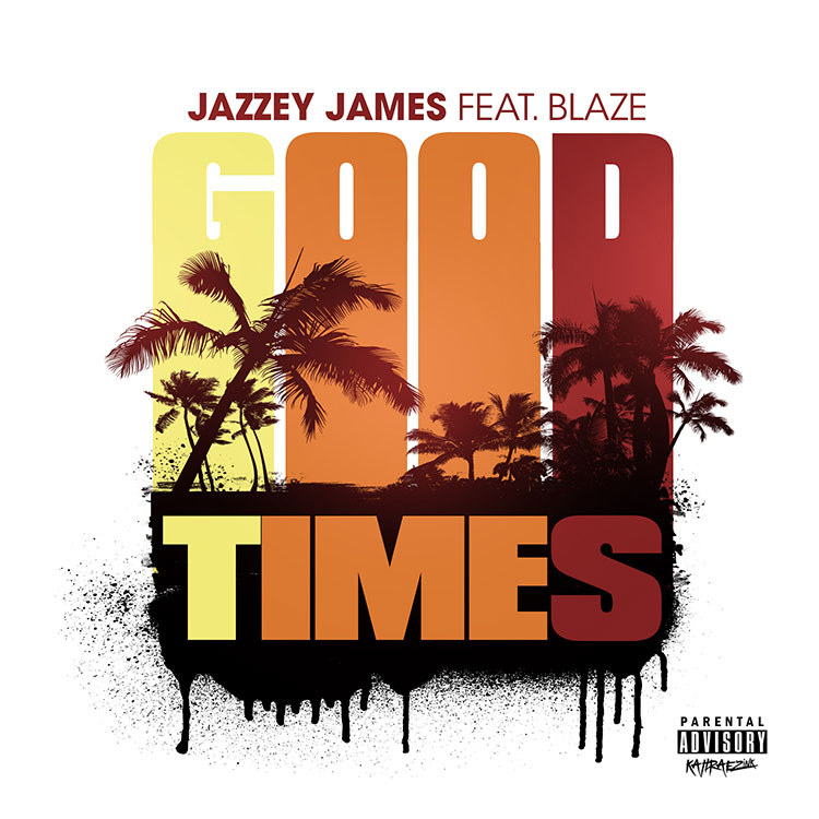 kahraezink_jazzey_james_good_times_single_cover_design