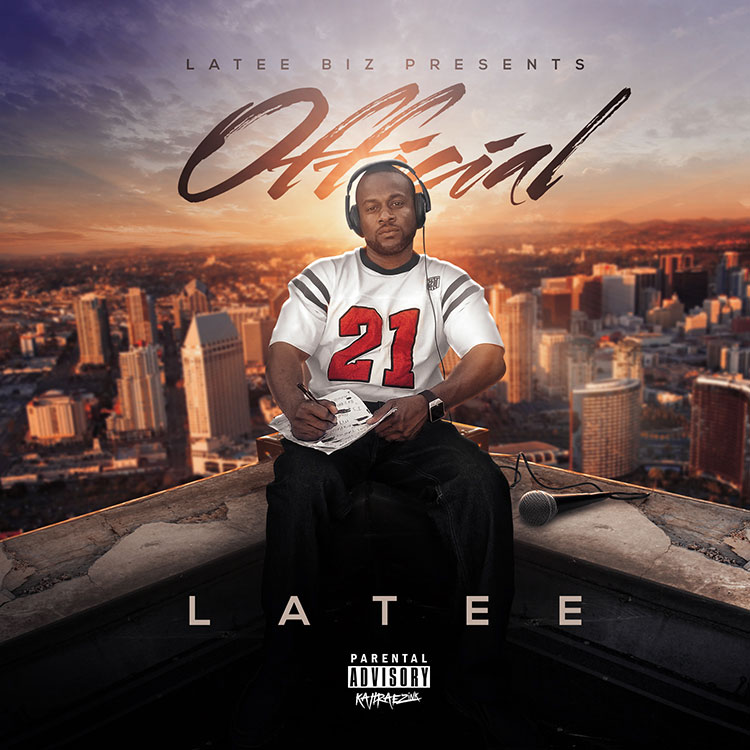kahraezink_latee_official_mixtape_cover_design