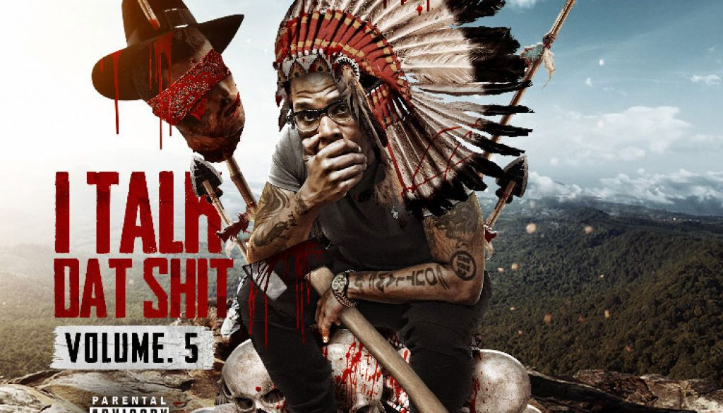 kahraezink_xay_the_dj_i_talk_dat_shit_volume_5_mixtape_cover_design