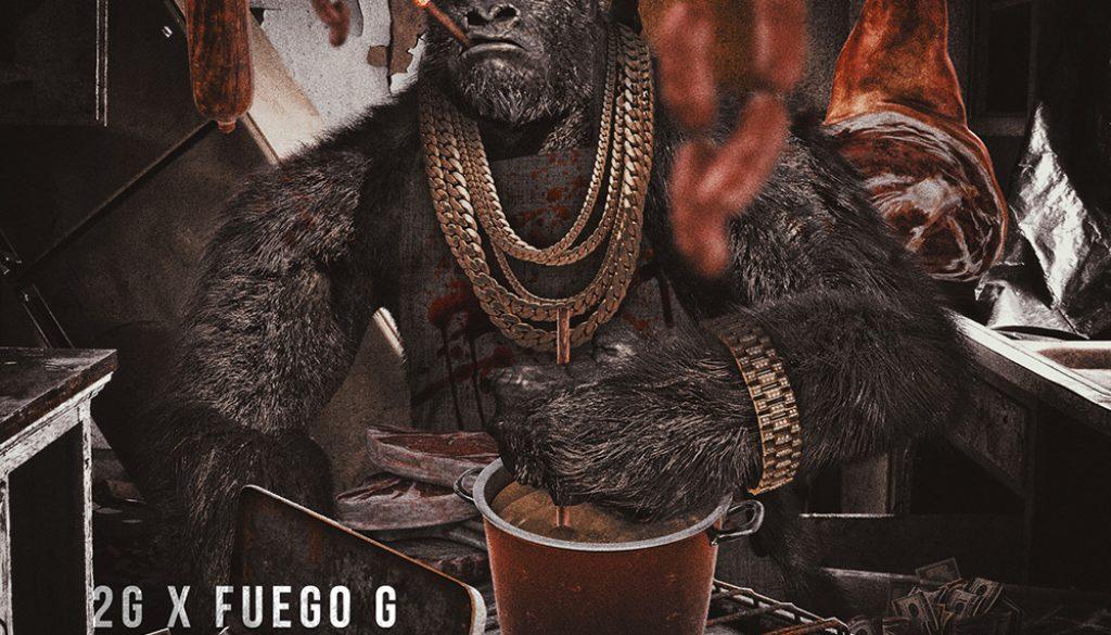 2g_x_fuego_g_cookin_beef_hip_hop_rap_single-cover_designed_by_kahraezink